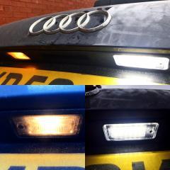 LED number plate lights