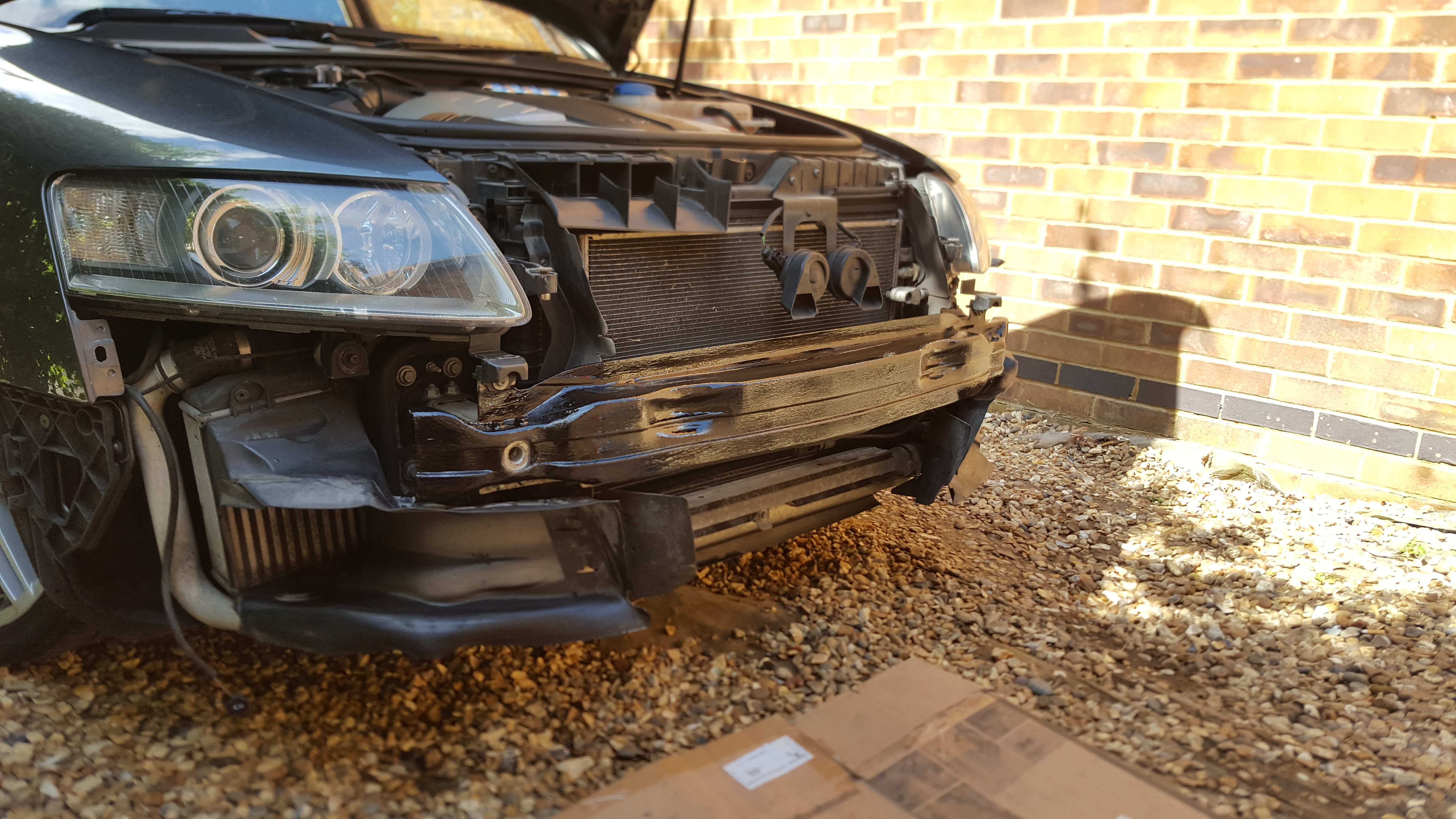 Honeycomb grill swap a6 c6 - Audi A6 (C6) Forum - Audi