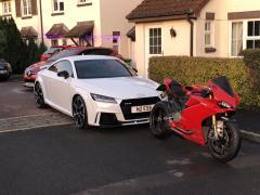 Nigel's new TT RS