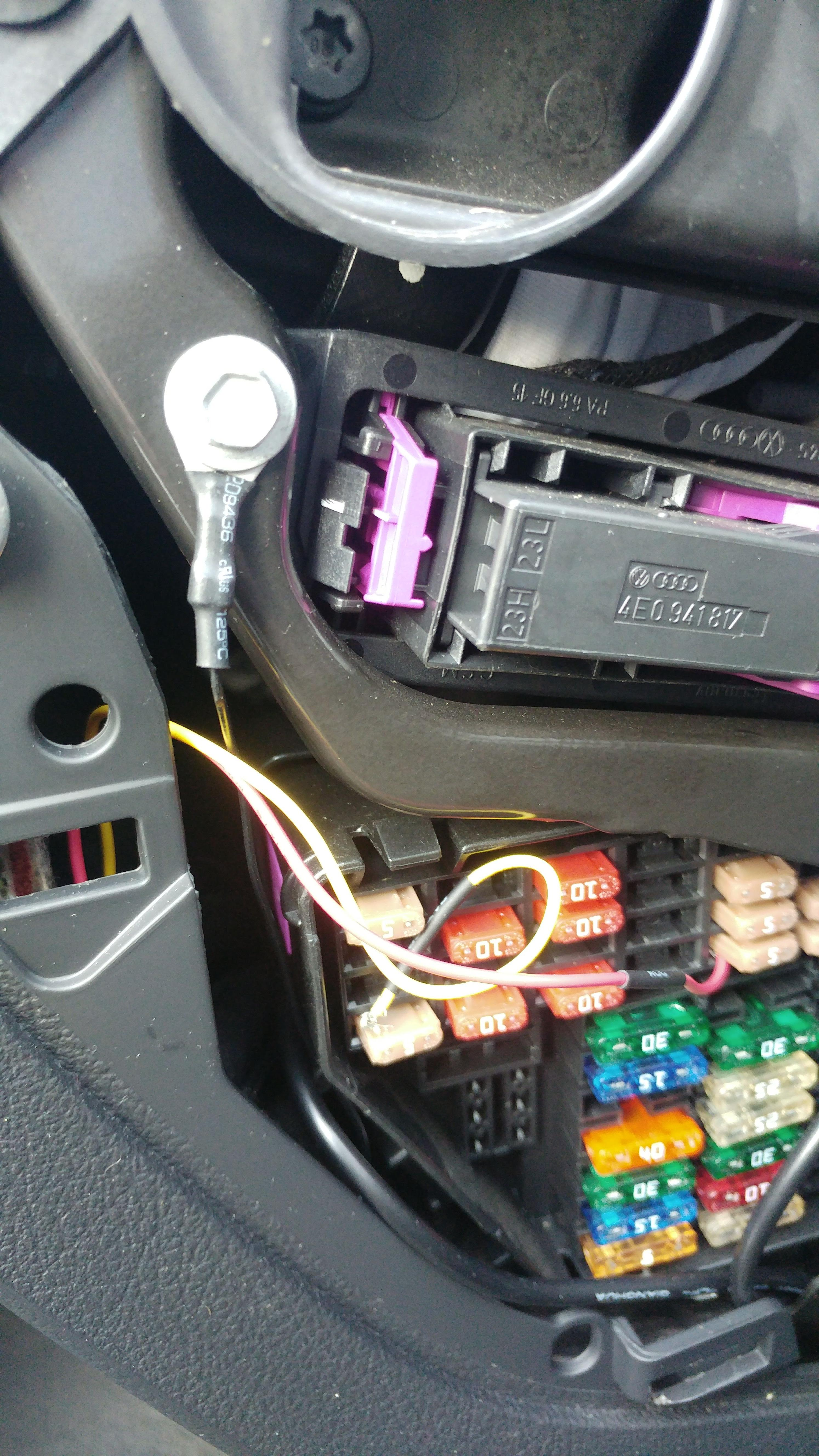 Audi A6 G Box Fuse