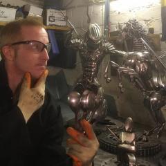 BirdmanMetalSculptor